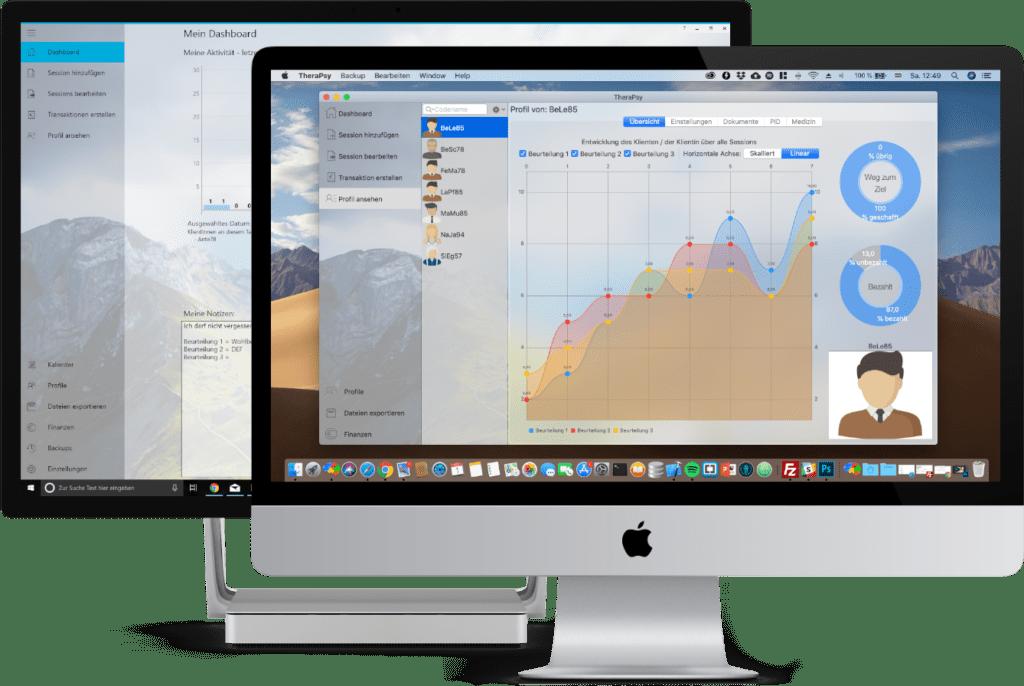 TheraPsy Praxisverwaltung für Windows und macOS